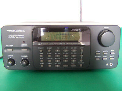Realistic 1000 channel PRO-2035 - Full Working Condition