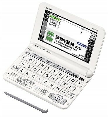 Casio Electronic Dictionary EXword XD-G7400 japanese Italian Italiano Giapponese