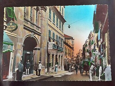 Vintage Postcard. Gibraltar. Post Office. L. Roisin