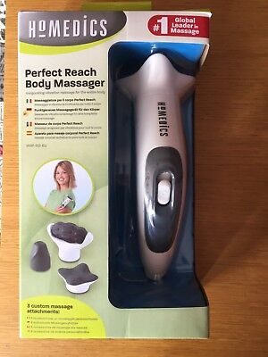 HoMedics Thera-P Perfect Reach Handheld Body Massager 2 Speed 3 Heads HHP-110-EU