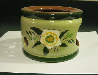 Vtg STANGL China Pottery Star Flower Candle Warmer Warming Stand