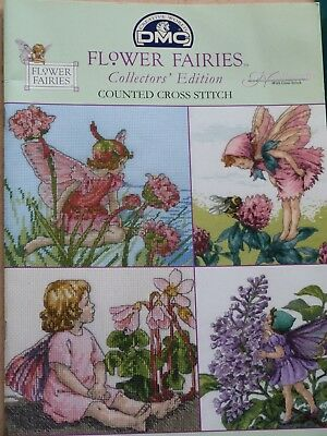 'Flower Fairies' Collector's Edition 21 Counted Cross Stitch Charts Booklet