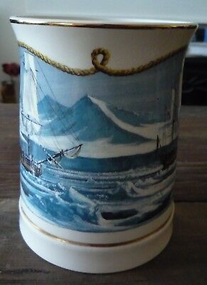 Wedgwood Danbury Mint Horatio Nelson Tankard Artic Voyage Limited Edition