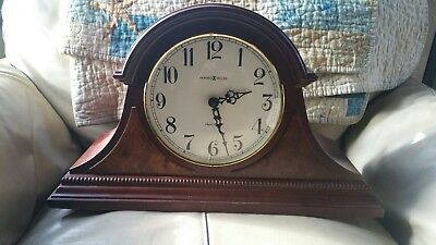 Howard Miller Battery Operated Dual Chime Mantle Clock