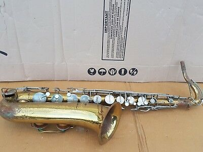 1971 BUESCHER ARISTOCRAT TENOR SAX / SAXOPHONE - made in USA