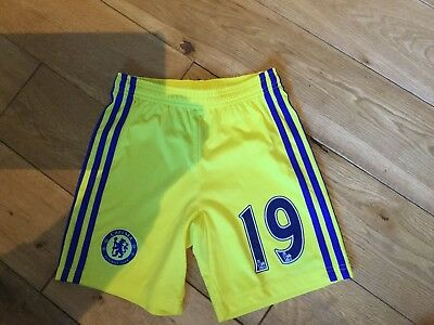 CHELSEA FOOTBALL SHORTS HOME Away Kit Aged 9-10years