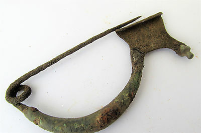 Ancient Roman iron & bronze  Legionary Crossbow Fibula/Broch