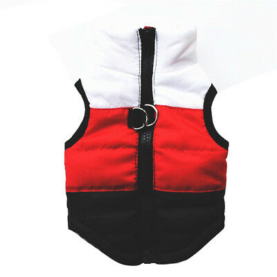 Pet Dog Clothes Waterproof Small/ Large Winter Warm Padded Coat Pets Vest Jacket