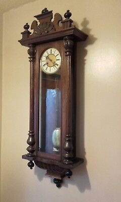 Antique Junghans Regulator Wall Clock
