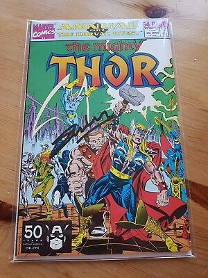 Marvel Comics 1991 The Mighty Thor Issue 16 Signed By Stan Lee With Cert