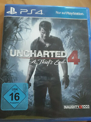 Uncharted 4 - A Thief's End (Sony PlayStation 4 PS4 Spiel, 2016)