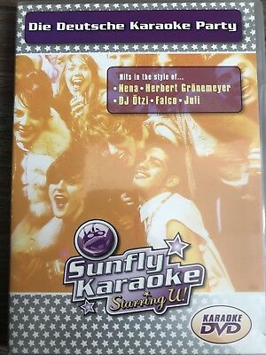Sunfly Karaoke DVD, Die Deutsche Karaoke Party
