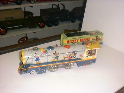 Marx Mickey Mouse Meteor Steam Engine / All Hand Painted Prototype Original