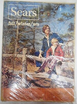 Sears Vintage Fashion Catalog Lot Fall Winter 1975, 1976