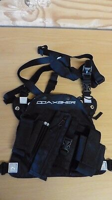 Co Axsher Chest Rig for phone, GPS, Maps, Pens etc