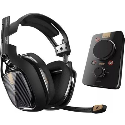 ASTRO Gaming A40 TR Headset + MixAmp Pro TR for PS4, PS3, PC -Used Free Shipping