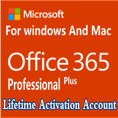 INSTANT Microsoft Office 365 Pro Plus For Mac & Download Link 5 Devices 5TB