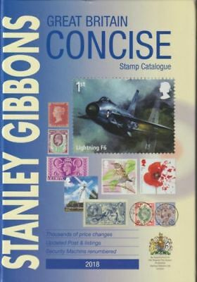 Stanley Gibbons Great Britain Concise 2018 Stamp Catalogue