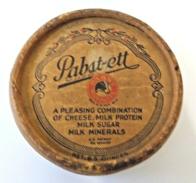 Vintage PABST-ETT CHEESE FOOD CONTAINER
