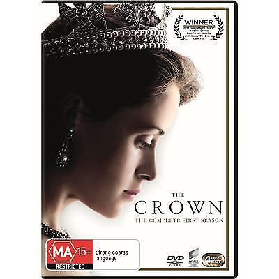 The Crown Season 1 Dvd, New & Sealed, 2017 Release, Region 4. Free Post