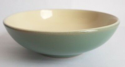Vintage Denby 'Manor Green' 17cm Bowl