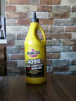 Pennzoil 4096 Gear Lubricant 4096 1 Qt Empty Pennzoil Products Co. Houston Texas