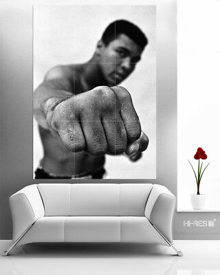 Muhammad Ali Poster no3 Boxing Motivational Sport Wall Art 50x35 PHOTO PAPER
