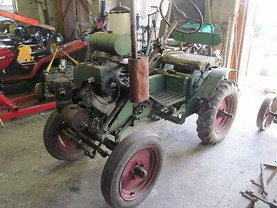 Trusty Steed 4 Wheel Tractor  with range of attachments.