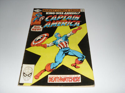 Captain America Annual 5 : VG+