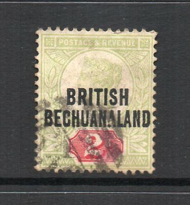 Bechuanaland - 1891-1904, 2d Grey-Green & Carmine (sg34) Used