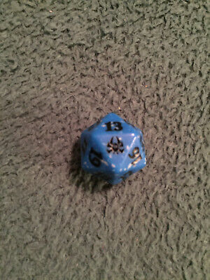Dimir D20 Life Counter Dice - Guilds of Ravnica