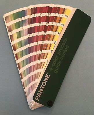 Pantone 4-color Process Guide COATED