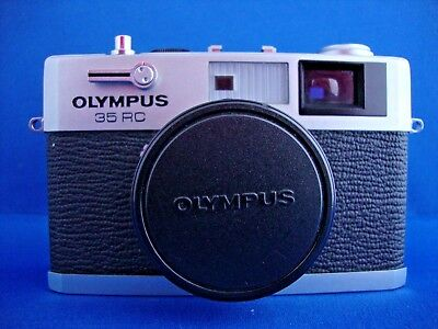 Olympus 35 RC Rangefinder 35mm Film Camera with 42mm F2.8 E.Zuiko Lens