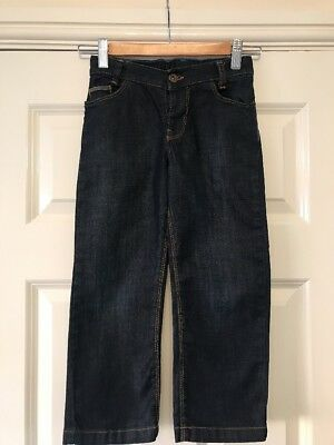 Boys Ted Baker Jeans Age 5 Years Dark Wash Adjustable Waist