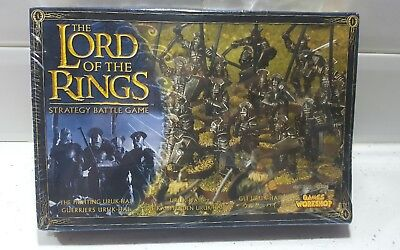 Games workshop -  lord of the rings - isenguard fighting Uruk-hai bnib (c63)