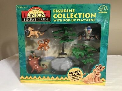 The Lion King Simba's Pride Figurine Collection Disney