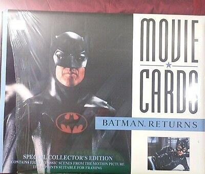 Movie Lobby Cards BATMAN RETURNS Special Collector's Edition 11x14 Placards