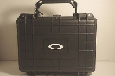 Oakley travel display case for shades and sunglasses. Dust and water resistant .