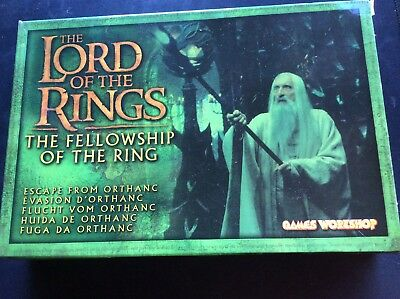 Games Workshop Lord Of The Rings Fellowship Of The Ring Escape From Orthanic
