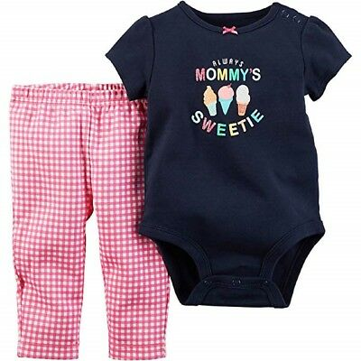 e5c36e749 Carter's Baby Girls Mommy's Sweetie Bodysuit and Pant Set - 3 Months -  NEW/NWT