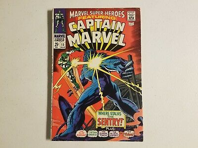 Marvel Super-Heroes 13 Featuring Captain Marvel, 1st Carol Danvers