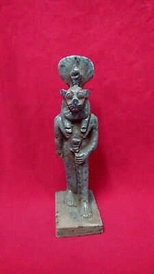 Ancient Egyptian Antiquities Statue of God Sekhmet - (1390–1352 BC)