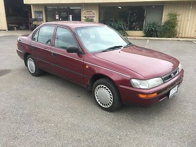1997 Toyota Corolla 1.8 litre 4 cylinder automatic sedan not hatch cheap first