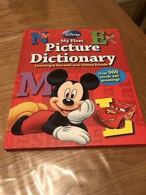 Disney Child's My First Picture Dictionary
