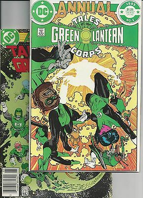 Tales of the Green Lantern Corps Annual #1,2 VF Alan Moore etc... (Feb 1985, DC)