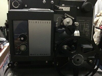 Bell & Howell Filmosound 535 16mm Projector & Movie