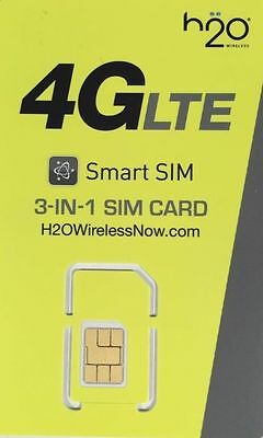 H2O Wireless sim, 30% off 1st month with new activation