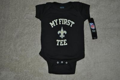 fbf9755da New Orleans Saints Infant Baby One Peice MY FIRST SAINTS TEE 0-3 Months NWT