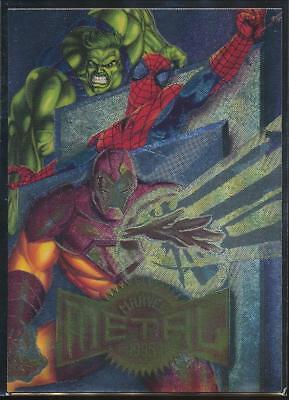 1995 Marvel Metal Trading Card #138 Checklist