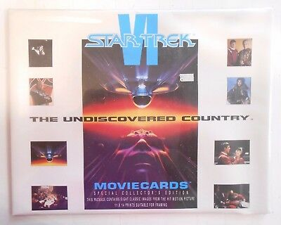 Star Trek Movie Cards, Special Collector's Edition, 1991, 11X14 Size, Nos!!!